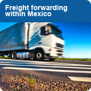 Freight forwarding within Mexico